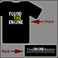Flood The Engine T-Shirt